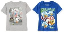 Peanuts/Snoopy Angry Birds Toddler Boys T-Shirts Sizes 2T, 3T, 4T and 5T NWT