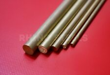 "Brass Round Bar Metal Rod CZ121 - ⅛"" 4mm 5mm 6mm 8mm 10mm 12mm - FREE Delivery!"