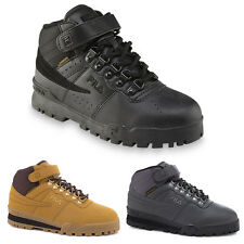 NEW Mens Fila F-13 Mid High Top Weather Tech Sneaker Boots Shoes