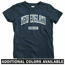 New England Represent Kids T-shirt - Baby Toddler Youth Tee - Boston Providence