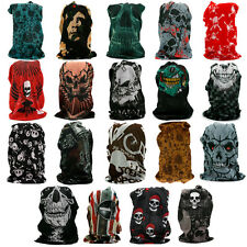 Unisex Face Mask Biker Scarf Ski Snood Bike Motorcycle Skull Bandana