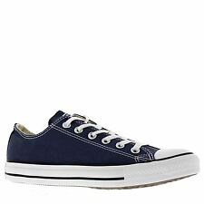 Converse Chuck Taylor All Star Ox Lowtop Navy Canvas Mens Trainers Sneakers