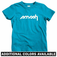 Smash Stencil Logo Kids T-shirt - Baby Toddler Youth Tee - Streetwear Graffiti