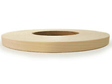 "Birch Maple Red Oak Cherry wood veneer edgebanding pre glued (3/4"" - 7/8"")x 250'"
