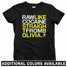 Raw Like Cocaine Kids T-shirt - Baby Toddler Youth Tee - Wu Tang Lyrics Rap Gift