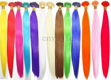 20pcs Solid Synthetic single Color  Feather Hair Extensions 16inches Long