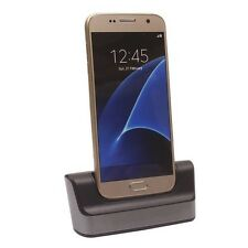 Dual Desktop Sync Cradle Charger Dock Station For Samsung Galaxy S7 S7 Edge