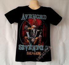AVENGED SEVENFOLD A7X HAIL to the KING Heavy Metal Rock Tshirt Front & Back New