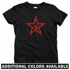 USSR Star Kids T-shirt - Baby Toddler Youth Tee - Russia Communist CCCP Russian