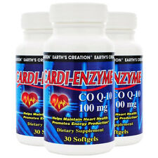 Earth's Creation Cardi-Enzyme CO-Q10 100mg - 30 Softgels by