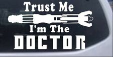 Doctor Who Sonic Screwdriver Trust Me Car or Truck Window Laptop Decal Sticker