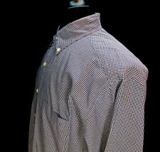 Brooks Brothers, Button Front, Button Down Collar, Check Print, Size: Medium