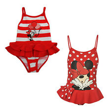 DISNEY MINNIE MOUSE CHILDRENS KIDS BABY TODDLER GIRLS SWIMSUIT SWIMMING COSTUME