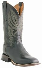 Lucchese M1811 WF Mens Black Ranch Hand Leather Western Horseman Cowboy Boots