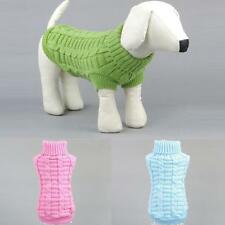 Fashion Pet Dog Puppy Cat Warm Sweater Clothes Knit Winter Apparel Costumes New