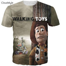 the walking dead shirt the walking toys t shirt Toys Casual Men Tee Shirts HQ