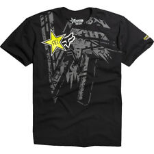 Fox Rockstar Energy Tonic T-shirt Black Tee Nitro Circus Skate BMX Downhill MX