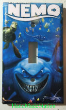 Finding Nemo Dory Shark Turties Light Switch Power Outlet Cover Plate Home decor