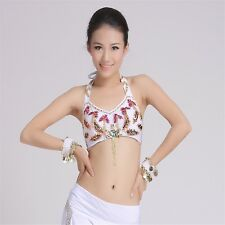 Belly Dance Beaded Sling Tops Dancing Tribal Bra Costume