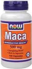 NOW Foods Maca, 500mg -  Increasing Stamina and Energy FREE P&P