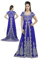 BRIDAL JILBAB FANCY EXCLUSIVE MOROCCAN CAFTAN WEDDING GOWN THOBE DRESS 5146