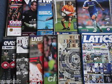 2011/12 WOLVES AWAY PROGRAMMES CHOOSE FROM