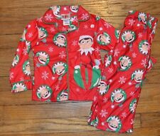 The Elf on The Shelf Christmas Pajama Set Size 3T Flannel Sleepwear PJ Toddler