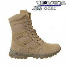 """Forced Entry Desert Tan 8"""" Deployment Boots with Side Zipper"""