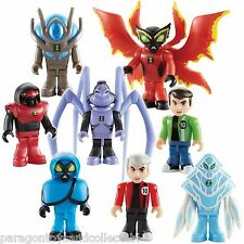 BEN 10 CHARACTER BUILDING MICRO FIGURE SERIES 1 - Choice of 14 Figures