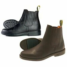 TUFFA TIPPERARY JODHPUR BOOTS NUBUCK LEATHER BLACK OR BROWN HORSE PONY RIDING