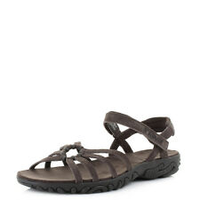 WOMENS TEVA KAYENTA DREAM WEAVE BROWN SUEDE FLAT ANKLE STRAP SANDALS Shu Size