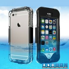 New Phone Smooth Screen Swimming Shock Dirt Waterproof Case Cover for iPhone SE