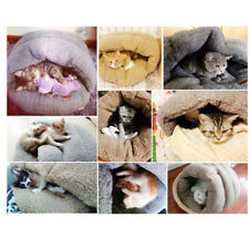 cat's house wram-keeping lamb wool slippers pet's house cat's sleeping bag,brown