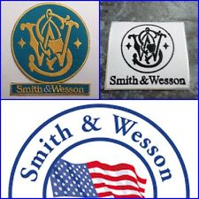Smith&Wesson Embroidered Iron Patch hunting hunter S&WGUN PISTOL FIREARMS RIFLE