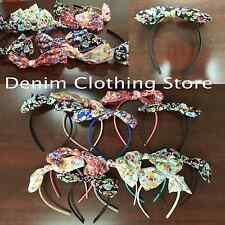 12pcs Lady Girl Flower Bowknot Ribbon Hair Headband Bow Head Band Clip Wholesale