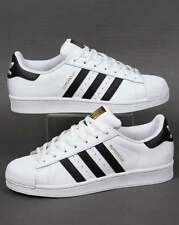 Adidas Originals - Adidas Superstar Trainers in White & Black - shell toe sale