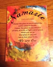 "Sansaara ""Namaste"" Eco Friendly Journal Diary"