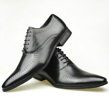 NEW MENS SMART OFFICE CLASSIC WORK CASUAL DRESS FORMAL PARTY SIZE WEDDING SHOES