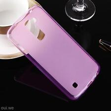 Ultra Thin Matte Soft Silicone Cell Phone Cover Case Skin Protector for LG K10