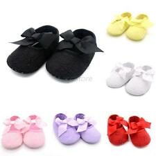 New Fashion Baby Girls Bowknot Snow Boots Soft Crib Shoes Toddler Boots U27