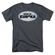 Eureka Men's  Made In Eureka T-shirt Charcoal Rockabilia