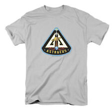 Eureka Men's  Astraeus Mission Patch T-shirt Silver Rockabilia
