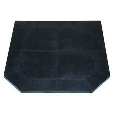 US Stove HS40DLBJT1 40-inch Heavy Duty Steel Tile Type 1 Black Jack Hearth Pad