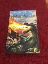 Harry Potter and the Goblet of Fire - Book 4 J K Rowling (4/7) - Paperback NEW