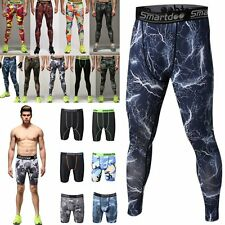 Men Compression Cycling Tight Armour Base Layer Running Long  Short Pants