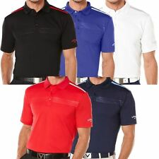 Callaway Golf 2016 Men's Performance Embossed Chest Colorblock Golf Polo Shirt