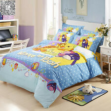 Quilt/Duvet Cover Set Pillowcases Single Double Queen Size Bed Winnie the Pooh