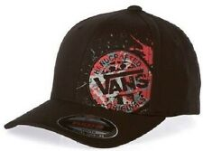 Brand New VANS Off The Wall Handcrafted SPL Flexfit Mens Hat Cap