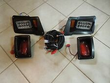 LED YAMAHA GOLF CART HEADLIGHTS & TAIL LIGHT PACKAGES