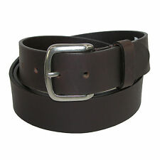 New Dickies Mens Leather 40mm Cut Edge Bridle Belt